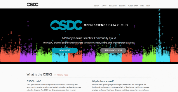 Open Science Data Club databases