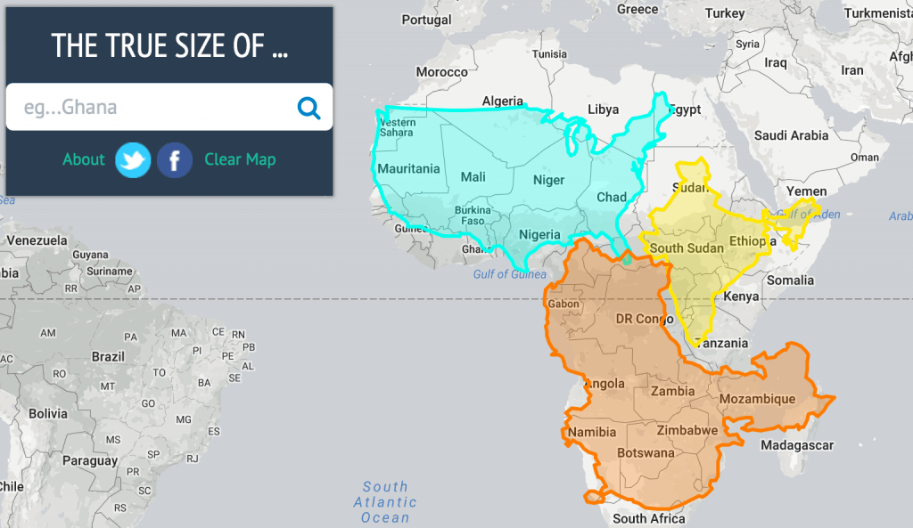 21 Mind-Blowing Map Examples from the Web - Infogram