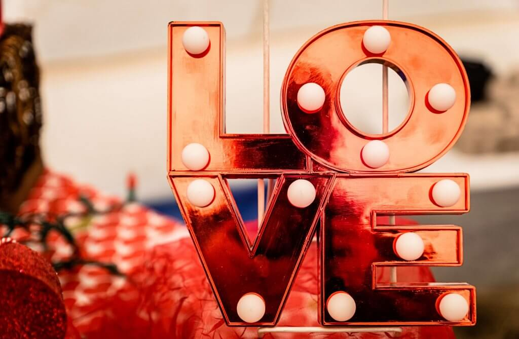 Valentine's Day spending in the US (infographic)