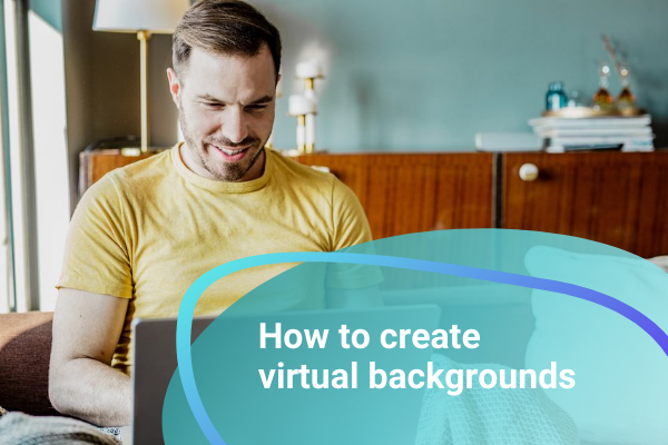 Create Zoom backgrounds for your online meetings